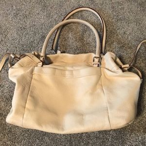 Kate Spade Cream Leather Satchel bag